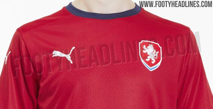 Áo đấu sân nhà đội tuyển cộng hòa Czech năm 2020