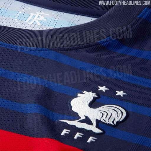 Lộ diện áo đội tuyển Pháp năm 2020