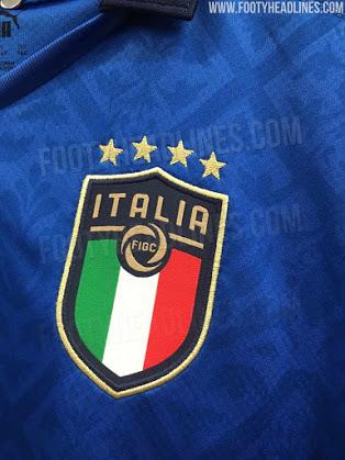Áo Italy home 2020 sẽ được Puma bán chính thức vào ngày 20 tháng 03