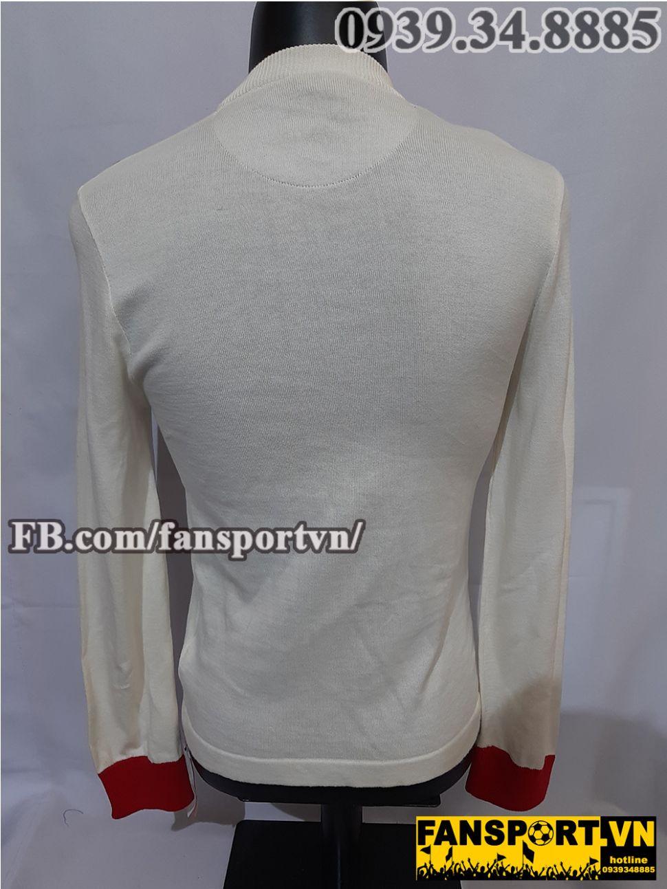 Áo đấu Manchester United chung kết FA Cup 1909 final home shirt jersey