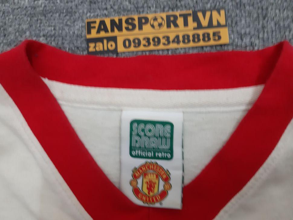 Áo đấu Charlton #10 Manchester United FA Cup Final 1957 away shirt