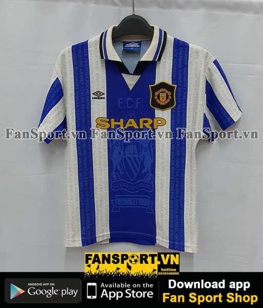 Áo đấu Beckham #24 Manchester United 1994-1995-1996-1997 third shirt