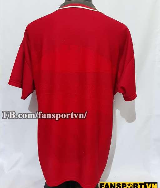 Áo đấu Champions Manchester United 1994-1996 home shirt jersey red