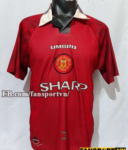Áo đấu Manchester United 1996-1997-1998 home shirt jersey red