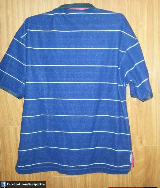 Áo đấu Manchester United 1999-2000 away shirt jersey blue