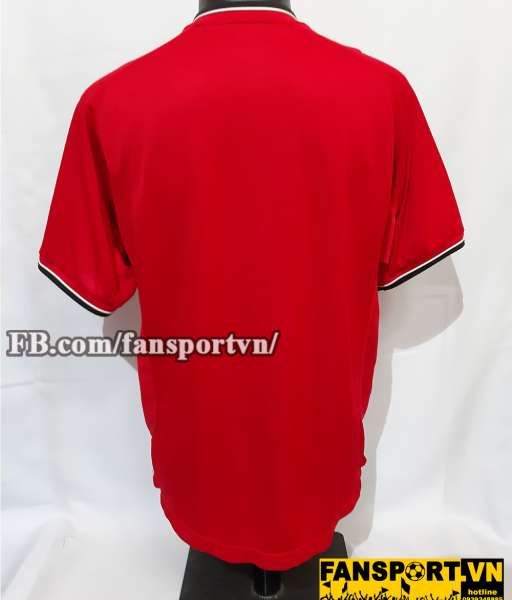 Áo đấu Manchester United 2000-2002 home chữ ký Yorke shirt jersey