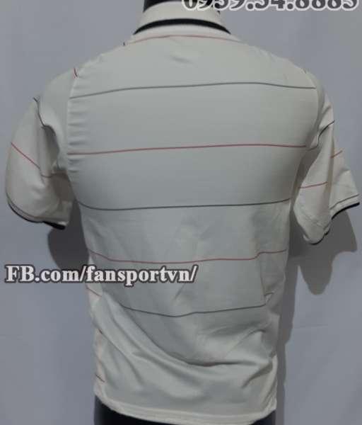Áo đấu Manchester United 2003-2006 third shirt jersey white