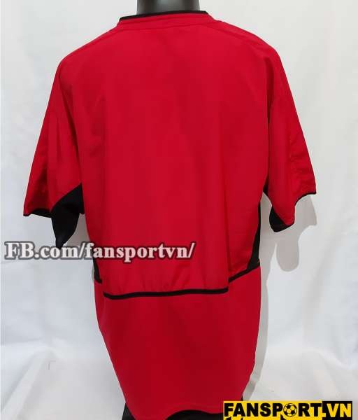 Áo đấu Manchester United 2002-2004 home shirt jersey red