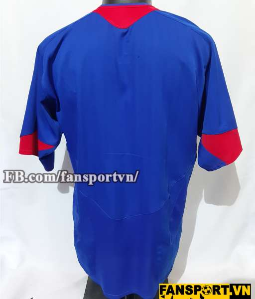 Áo đấu Manchester United 2005-2006 away shirt jersey blue