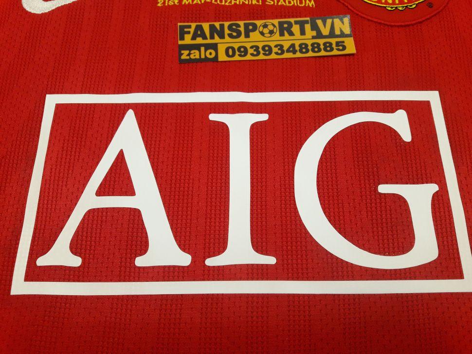 Áo đấu Manchester United Champion League Final 2008 home shirt jersey