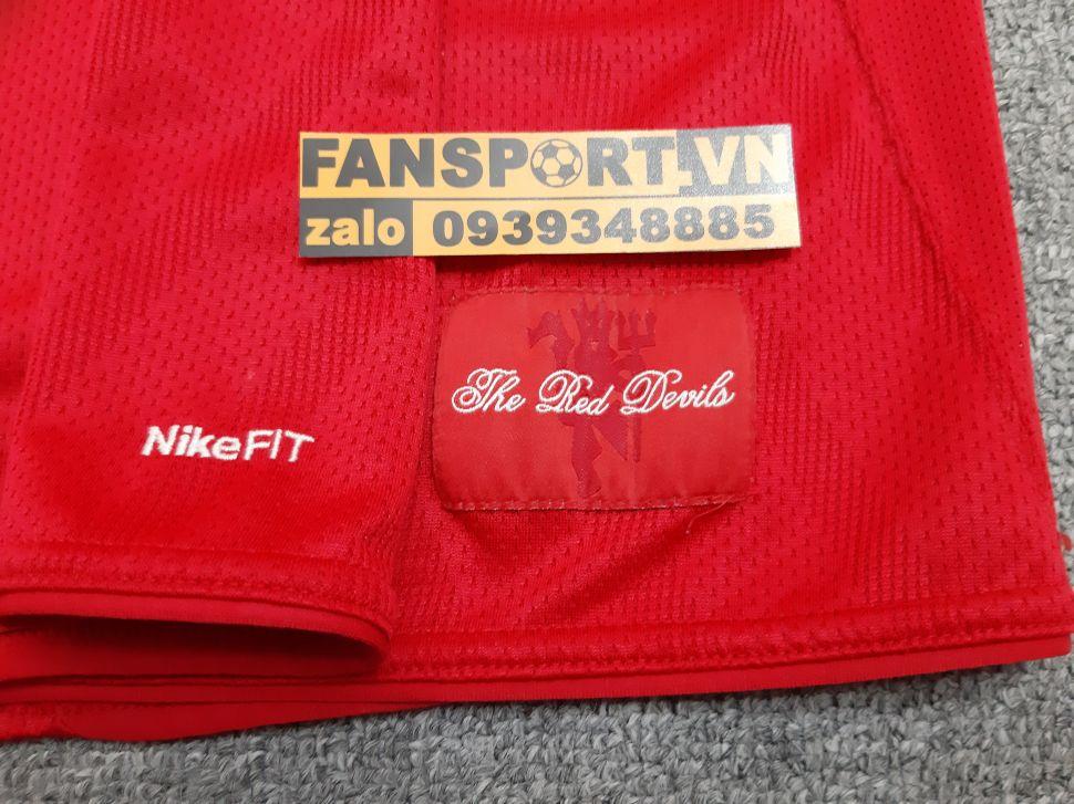 Áo đấu Manchester United FIFA Club World Cup 2008 home shirt jersey