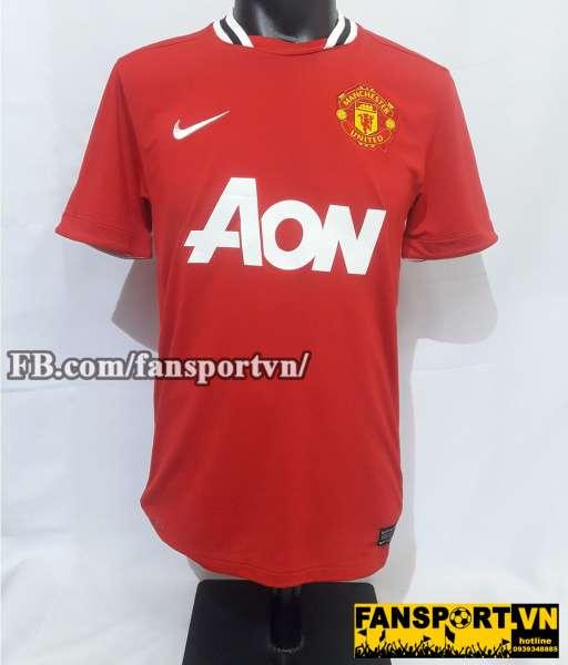 Áo đấu chữ ký Michael Owen #7 Manchester United 2011-2012 home shirt