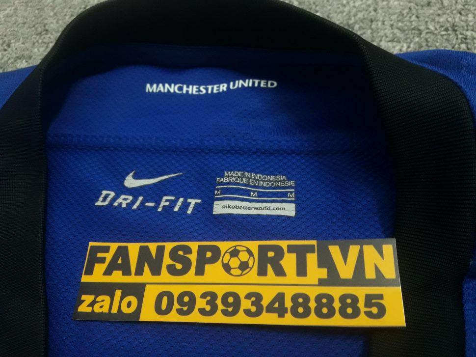 Áo đấu Manchester United 2011-2012 away shirt jersey blue
