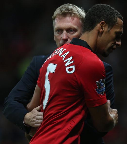 Áo Ferdinand #5 Manchester United Testimonial 2013 home shirt 2014 red