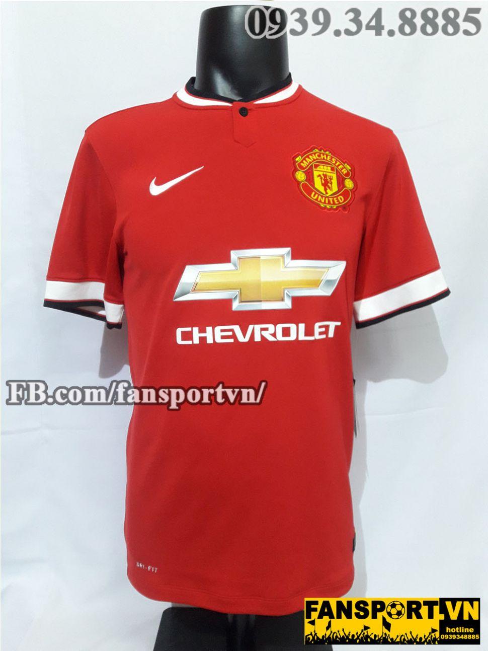 Áo đấu Januzaj #11 Manchester United 2014-2015 home shirt jersey red