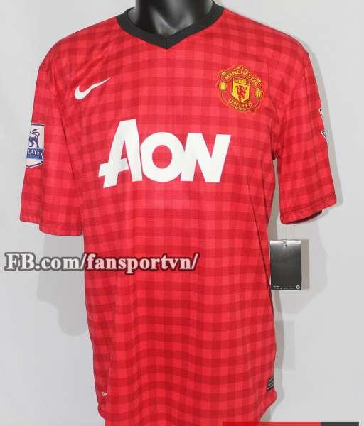 Áo đấu Manchester United 2012-2013 home Champions 20 shirt jersey red