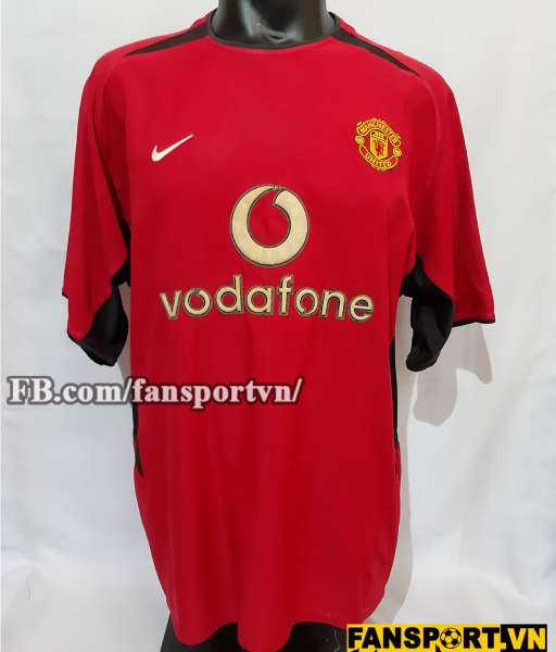 Áo đấu Ronaldo #7 Manchester United 2003-2004 home shirt jersey red