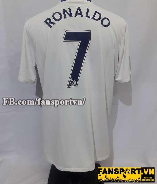 Áo đấu Ronaldo #7 Manchester United 2008-2009-2010 away shirt jersey