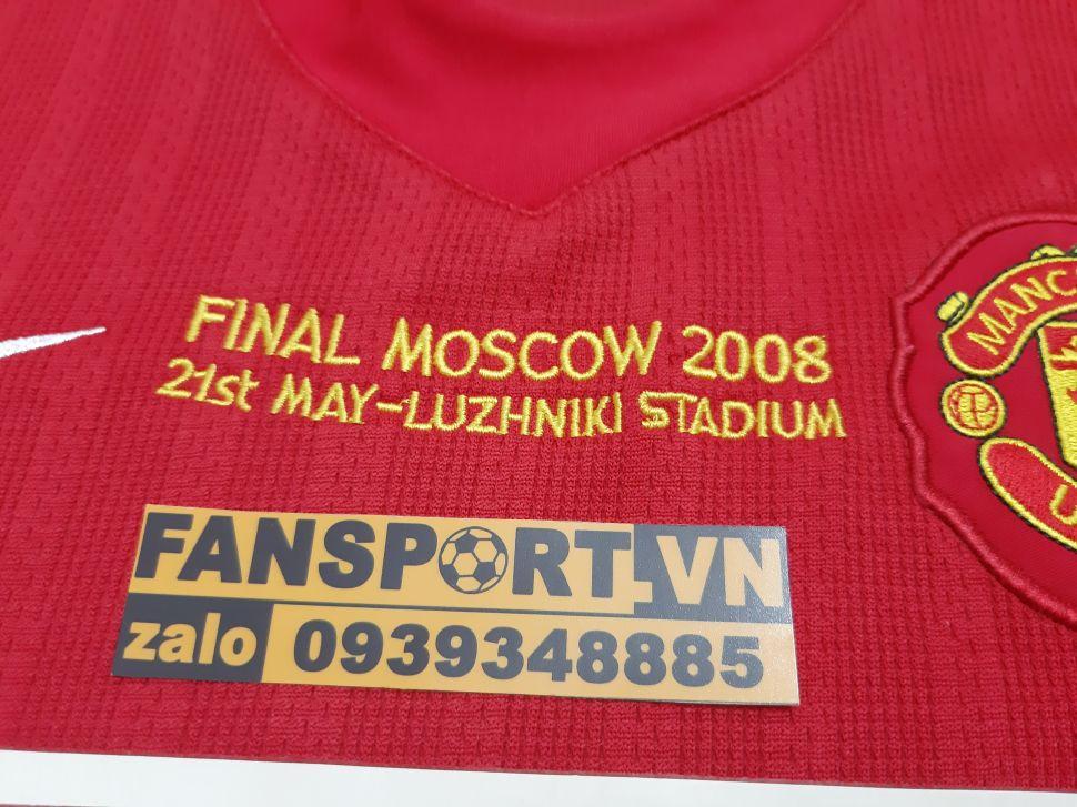 Áo đấu Ronaldo #7 Manchester United Champion League Final 2008 home