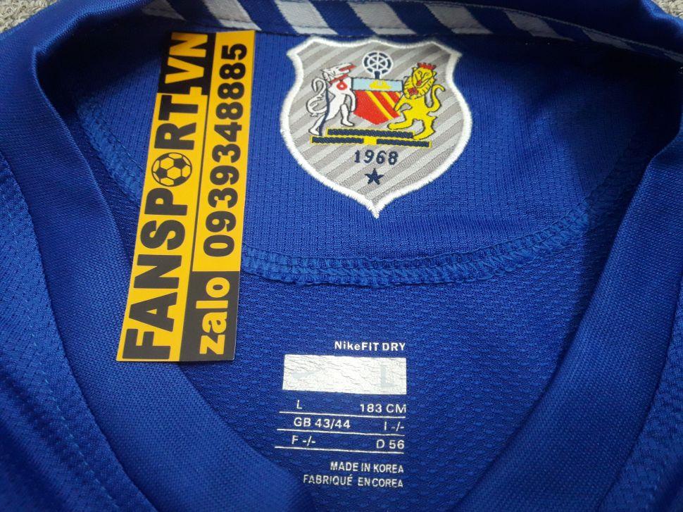 Áo Ronaldo #7 Manchester United 2008-2009 third shirt jersey blue