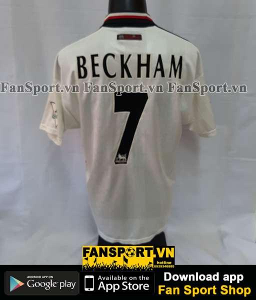 Áo đấu Beckham #7 Manchester United 1997-1998-1999 away shirt jersey