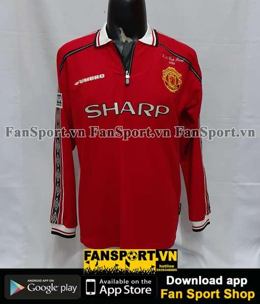 Áo đấu Giggs #11 Manchester United FA Cup 1998-1999 home shirt jersey
