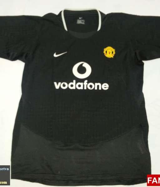 Áo đấu Giggs #11 Manchester United 2003-2005 away shirt jersey black