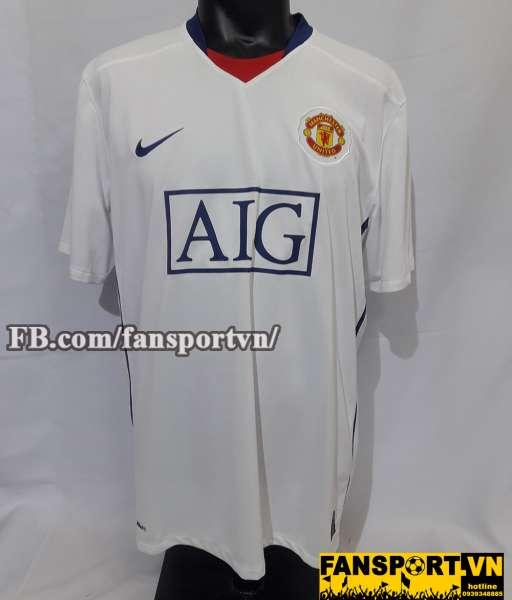 Áo đấu Giggs #11 Manchester United 2008-2009-2010 away shirt jersey