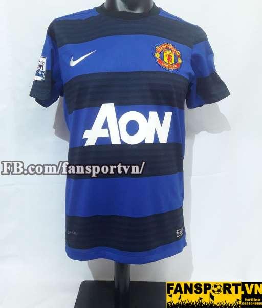 Áo đấu Giggs #11 Manchester United 2012-2013 away third shirt blue