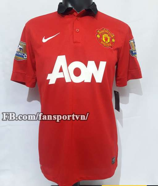 Áo đấu Giggs #11 Manchester United 2013-2014 home shirt jersey red