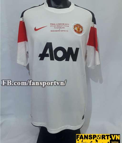Áo đấu Giggs #11 Manchester United Champion League Final 2011 shirt
