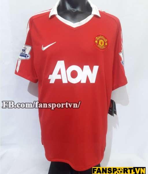 Áo đấu Rooney #10 Manchester United 2010-2011 home shirt jersey red