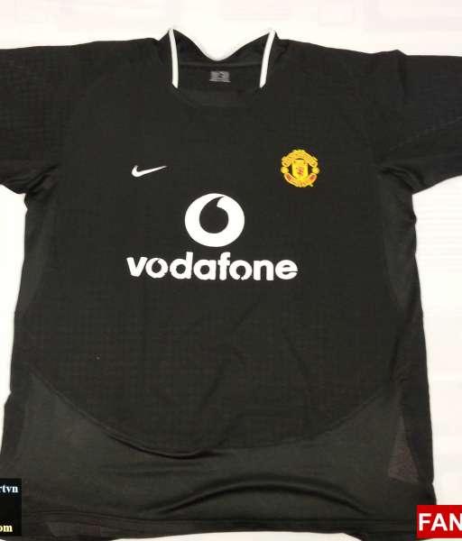 Áo đấu Rooney #8 Manchester United 2003-2005 away shirt jersey black
