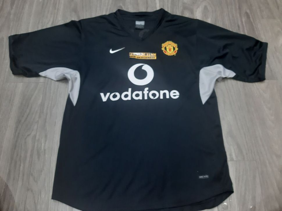 Áo training Rooney #8 Manchester United 2003-2004 training shirt black