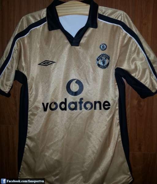 Áo đấu Cole #9 Manchester United 2001-2002 away third shirt jersey 100