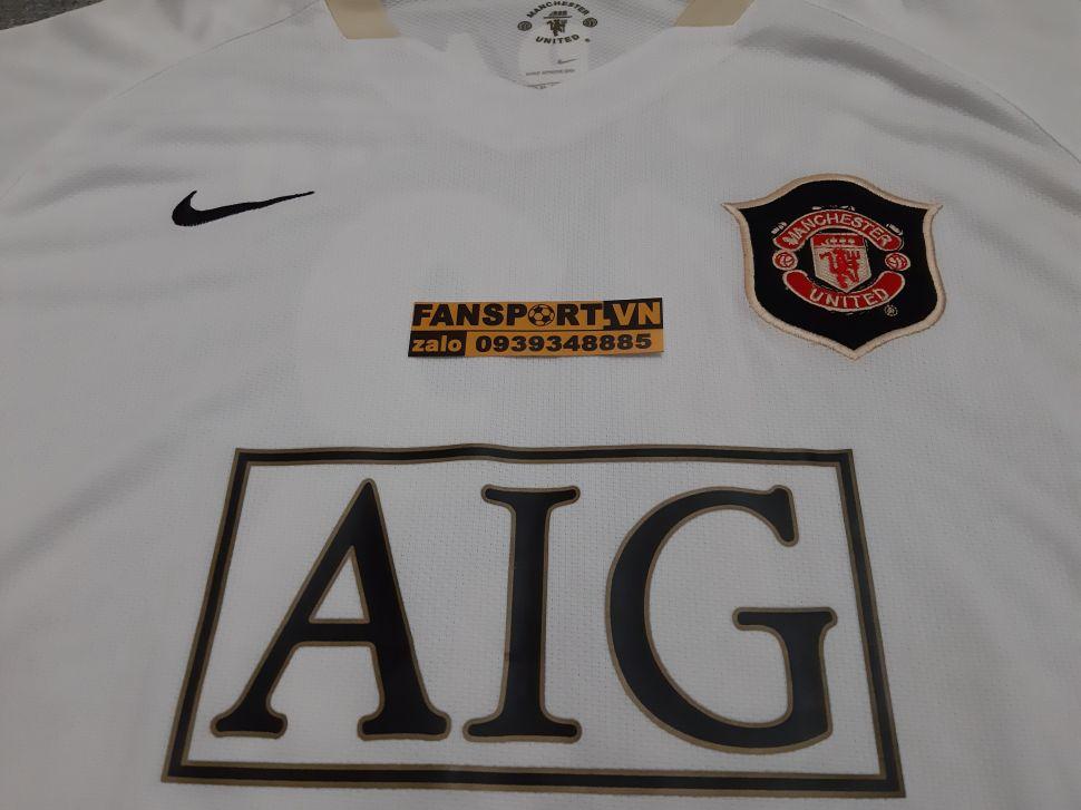 Áo đấu Park Ji-Sung #13 Manchester United 2006-2007 away shirt jersey