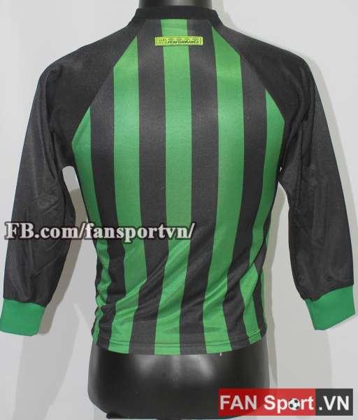Áo Manchester United 1997-1998 home goalkeeper shirt jersey green