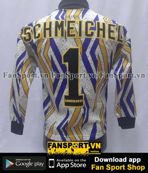 Áo Schmeichel #1 ManUtd FA Cup Final 1994 goalkeeper shirt 1993-1995