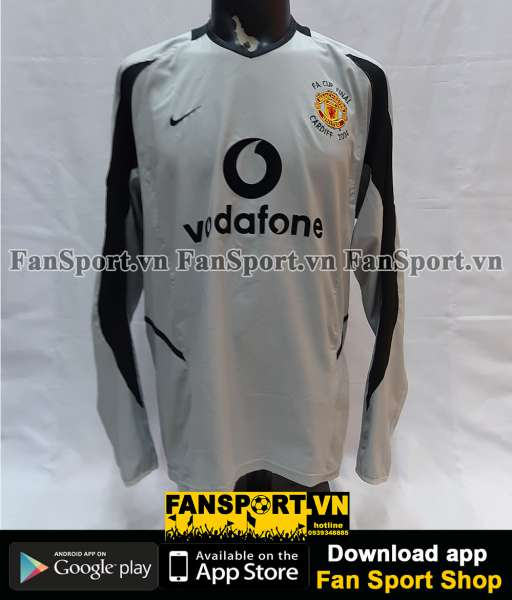Áo GK Manchester United FA Cup final 2004 goalkeeper 2002 2003 shirt