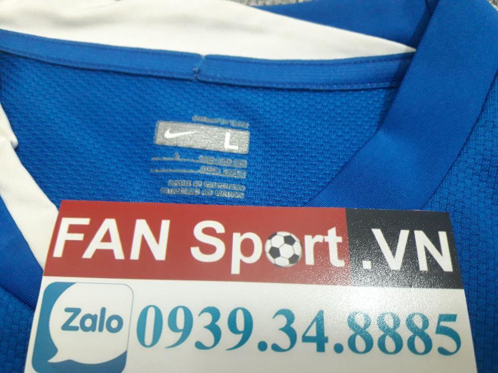 Áo Manchester United 2008-2009 away goalkeeper shirt jersey blue