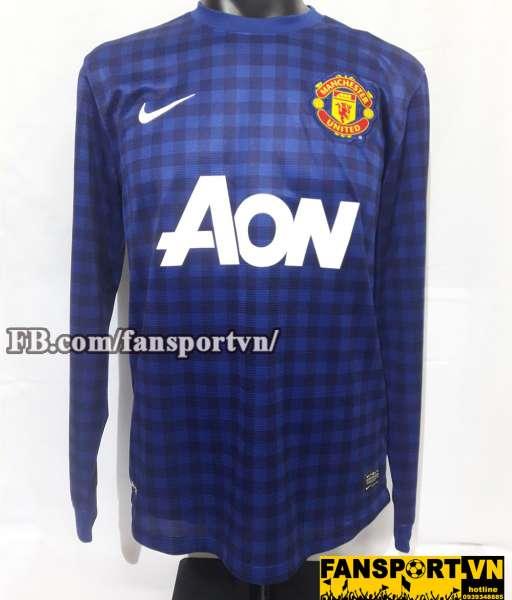 Áo De Gea #1 Manchester United 2012-2013 away goalkeeper shirt jersey
