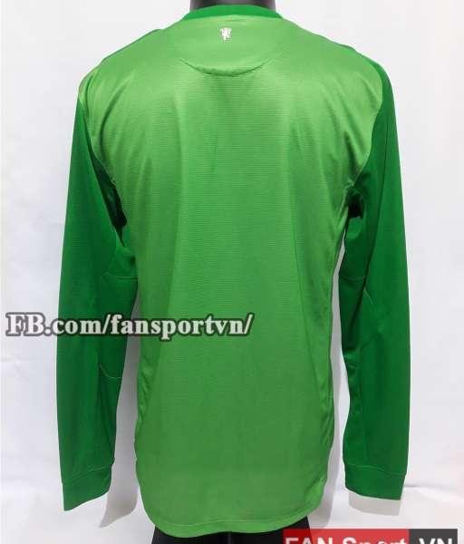 Áo Manchester United 2013-2014 home goalkeeper shirt jersey green