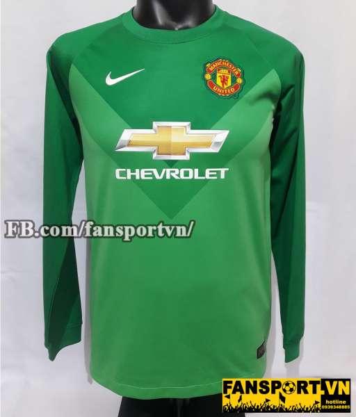 Áo De Gea #1 Manchester United 2014-2015 third goalkeeper shirt jersey