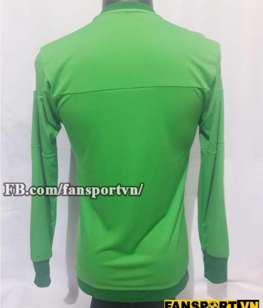 Áo De Gea #1 Manchester United 2015-2016 home goalkeeper shirt green