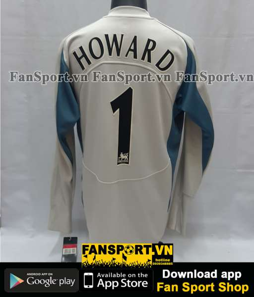 Áo Howard #1 Manchester United FA Cup final 2005 home goalkeeper shirt