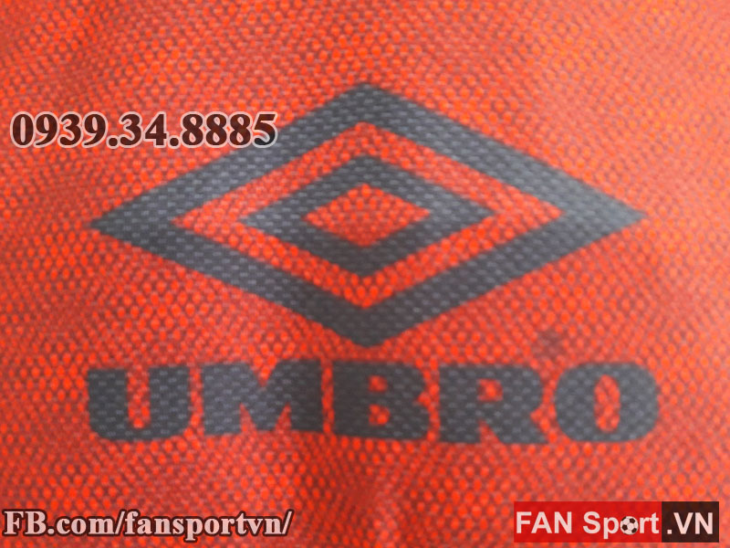 Áo tập Manchester United 1995-1996 training shirt jersey red