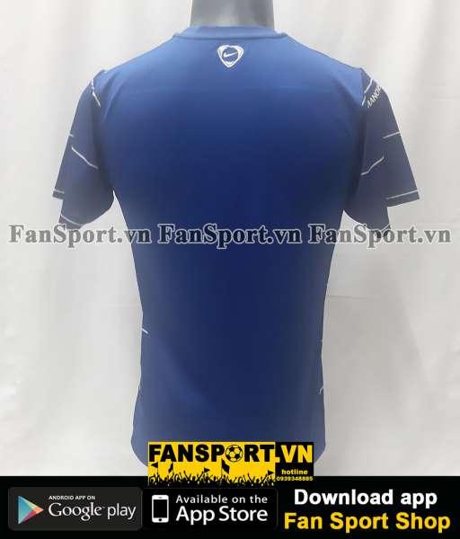 Áo tập Manchester United 2008-2009 training pre match shirt blue