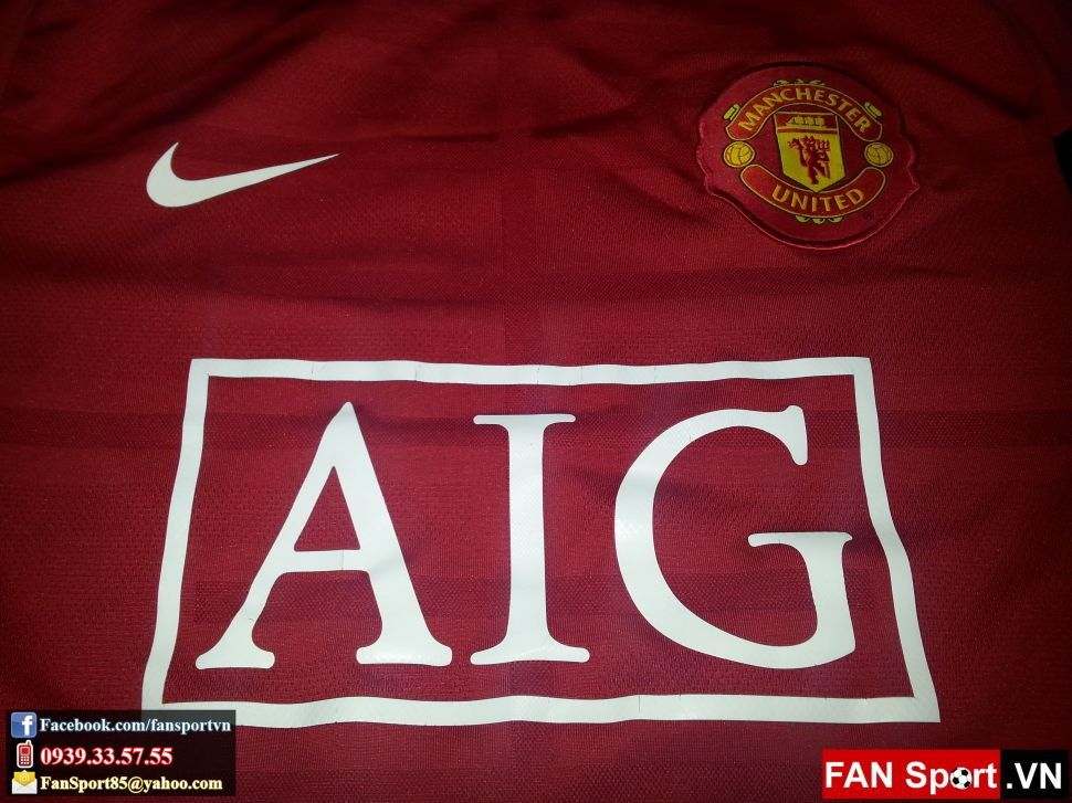 Áo tập Manchester United 2009-2010 training shirt jersey red