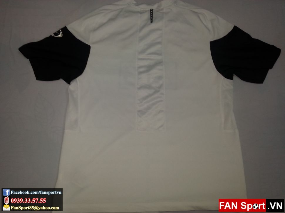 Áo tập Manchester United 2009-2010 training shirt jersey white