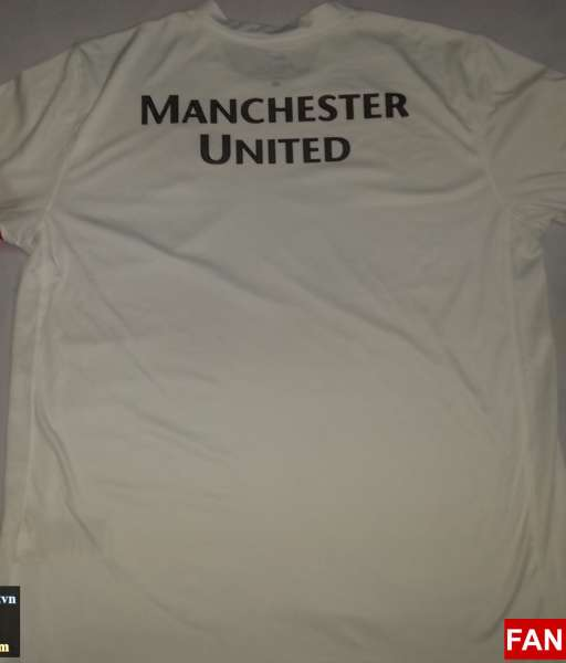 Áo tập Manchester United 2010-2011 training shirt jersey white